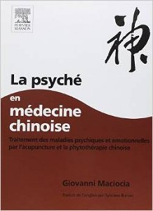 Couverture d'ouvrage: La psyché en médecine chinoise